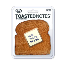 Fred & Friends - TOASTED NOTES