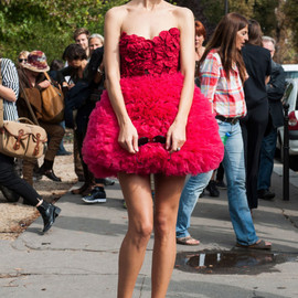 style icon - Street Style at Paris Fashion Week Spring/Summer 2015
