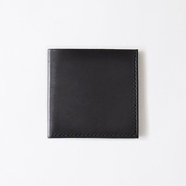 role - Square card case (ri-003) ブラック / black