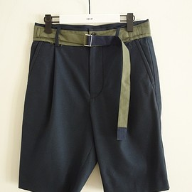 sacai - Solid Color Shorts