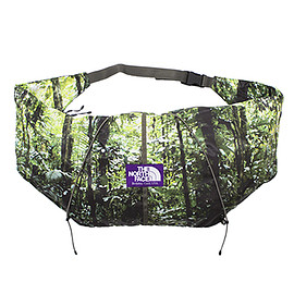 THE NORTH FACE PURPLE LABEL - Forest Print Wrap Bag