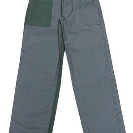 Engineered Garments - Sateen Fatigue Pant,Grey Combo