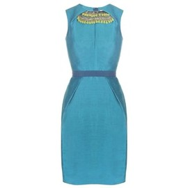 Matthew Williamson - Silk Linen Shift Dress