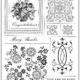 Anna Griffin - Anna Griffin Clear Stamp Sets - With Gratitude
