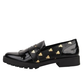 Miista - golden black bumble bee loafer
