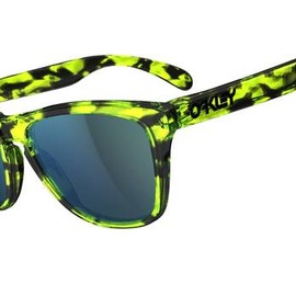 "OAKLEY - Frogskins Collectors Editions ""Acid Tortoise Green/Emerakd Iridium"""