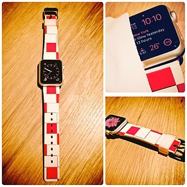 "Apple - Apple Watch Original Design Watch Band ""WaKin"""