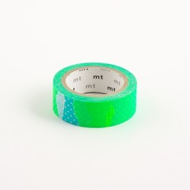 mt - Blue Green Collage (Tsugihagi) Tape Washi Tape