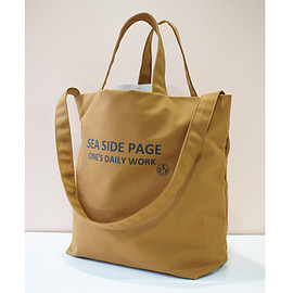 SeaSidePage - Research Tote