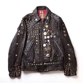Lewis Leathers - Studded Riders Jacket