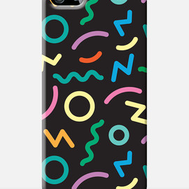 80s Pattern iPhone case