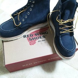 REDWING - BEAMS別注 NAVY SUEDE