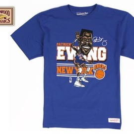 MITCHELL&NESS - New York Knicks Patrick Ewing Caricature Tee