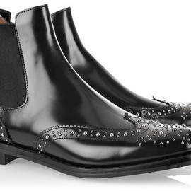 Church's - Ketsby Polishedleather Studded Ankle Boots