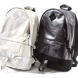 THE NORTH FACE PURPLE LABEL - 50th Anniv. Collection: Leather Day Pack