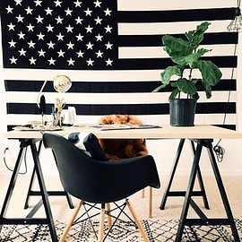 urban outfitters - American Flag Tapestry