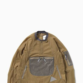and wonder - breath rip pullover jacket