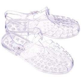 Hastings - Clear jelly sandals