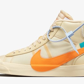 "Off-White™ × NIKE - Nike Blazer Mid ""ALL HALLOWS EVE"""