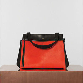 CELINE - Edge in pony calfskin bright orange