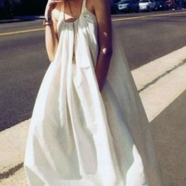 CHANEL - 70's white dress
