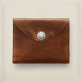 RRL - Concho Leather Wallet