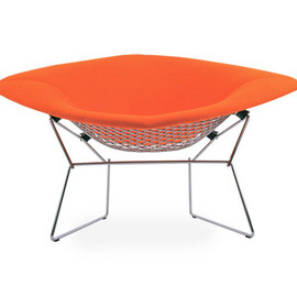 knoll - large diamond chair - full cover / Harry Bertoia