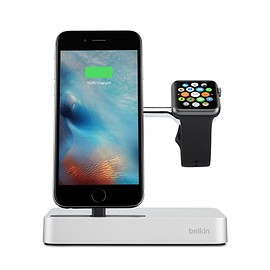 Belkin - Valet Charge Dock for Apple Watch + iPhone