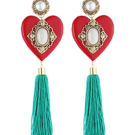 BADACIOUS - Pomme D'amour Earrings