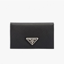 PRADA - Prada 1MC122 Leather Credit Card Holder In Black
