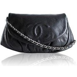 CHANEL - Half Moon Wallet on Chain