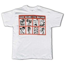 Rage Against The Machine - Rage Against The Machine Squarz T-Shirt