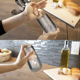 quirky - Shuck - garlic peeling shaker