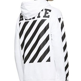 OFF-WHITE - CARRY OVER SWEATSHIRT HOODED WHITE