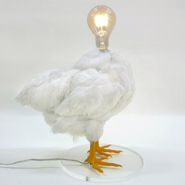 Sebastian Errazuriz - The Chicken Lamp