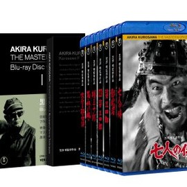 黒沢明 - 黒澤明監督作品 AKIRA KUROSAWA THE MASTERWORKS Blu-ray CollectionI(7枚組)