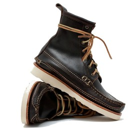 yuketen - maine guide db boot wax brown YUKETEN MAINE GUIDE DB BOOT WAX BROWN | TRES BIEN 20% PROMO CODE