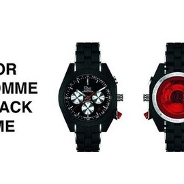 DIOR HOMME - CHIFFRE ROUGE BLACK TIME