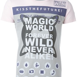 Walter Van Beirendonck Vintage - Kiss the Future Tシャツ