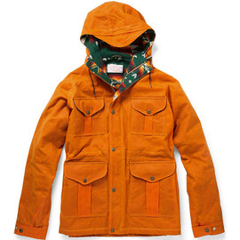 FILSON - Waxed Cotton Padded Jacket