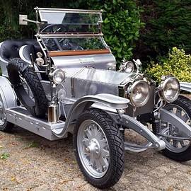 Rolls Royce - Silver Ghost replica for children (1907)