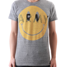 OVER THE STRiPES - BIG SMILE ARMY Tee