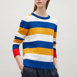 COS - FINE-KNITTED COTTON JUMPER