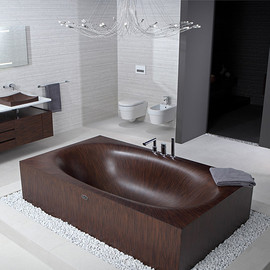 Alegna - Wooden Bathtub