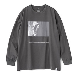 """Graphpaper - Poet Meets Dubwise for GP Jersey L/S Tee """"SUN"""""""