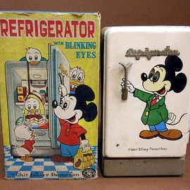 Disney - Mickey Mouse REFRIGERATOR 1960s