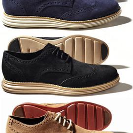 COLE HAAN x Nike LUNARGRAND LONG WINGTIP camello / black