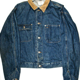 POLO RALPH LAUREN - Vintage Polo Ralph Lauren Denim Jacket Made in USA Mens Size Large