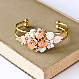 lonkoosh - Pink Collage Bracelet