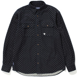 SANTASTIC! - DOT DENIM SHIRT